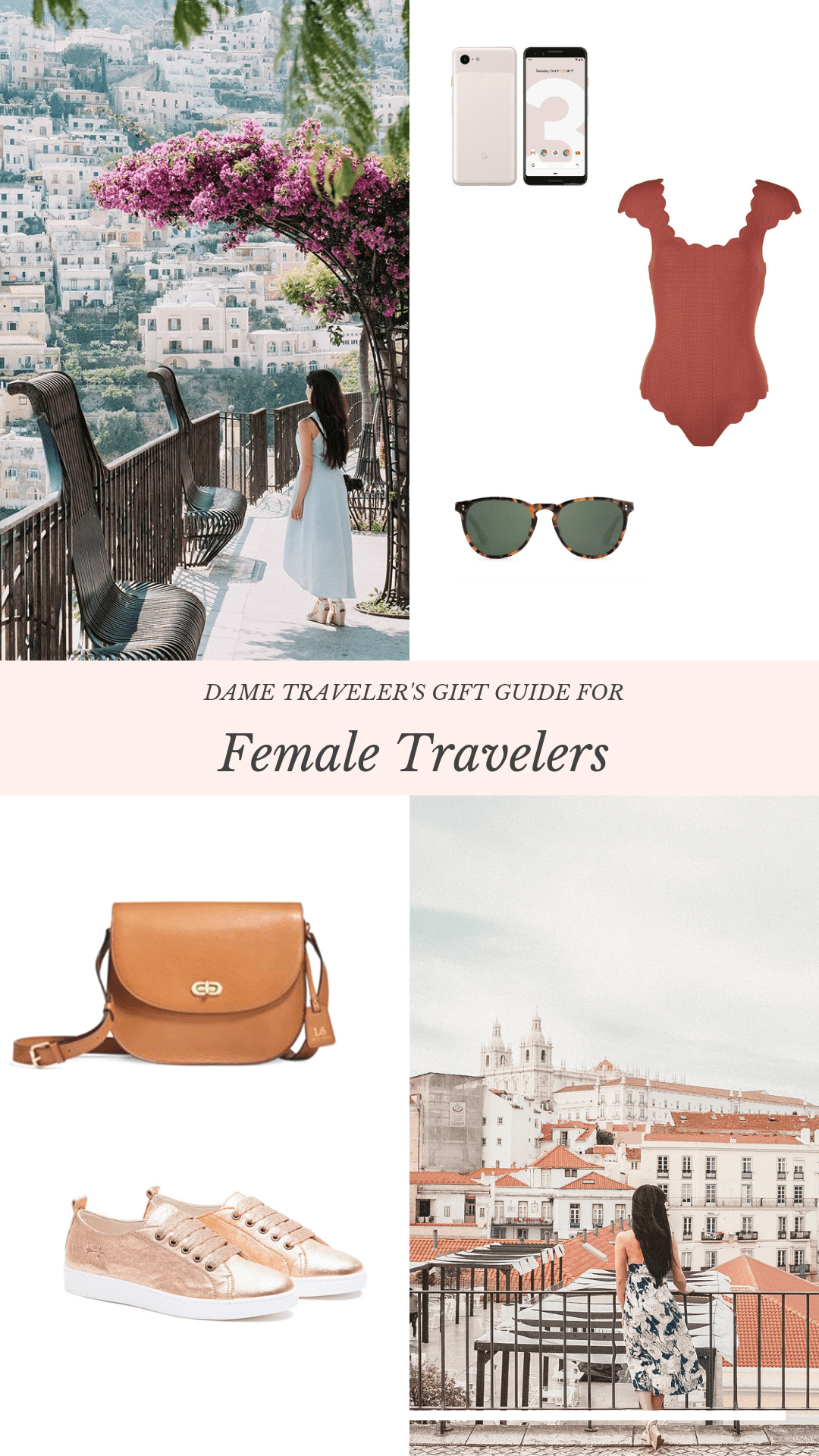 Dame Traveler's Gift Guide For Female Travelers