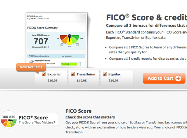 Experian FICO Score Available Via MyFICO TravelSort