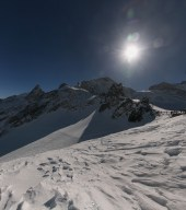 A 3200 mètres, c'est cafi de neige !!
