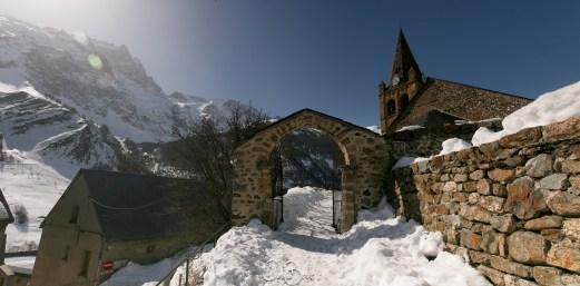 L'Eglise du village de La Grave