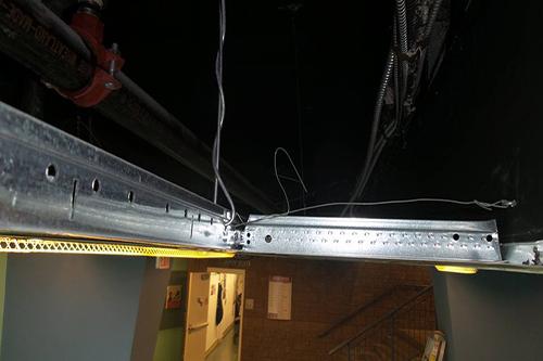 microphone hidden in ceiling