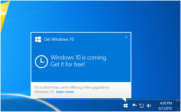 Get Windows 10 Free Copy