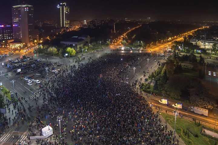 Protest București 2015