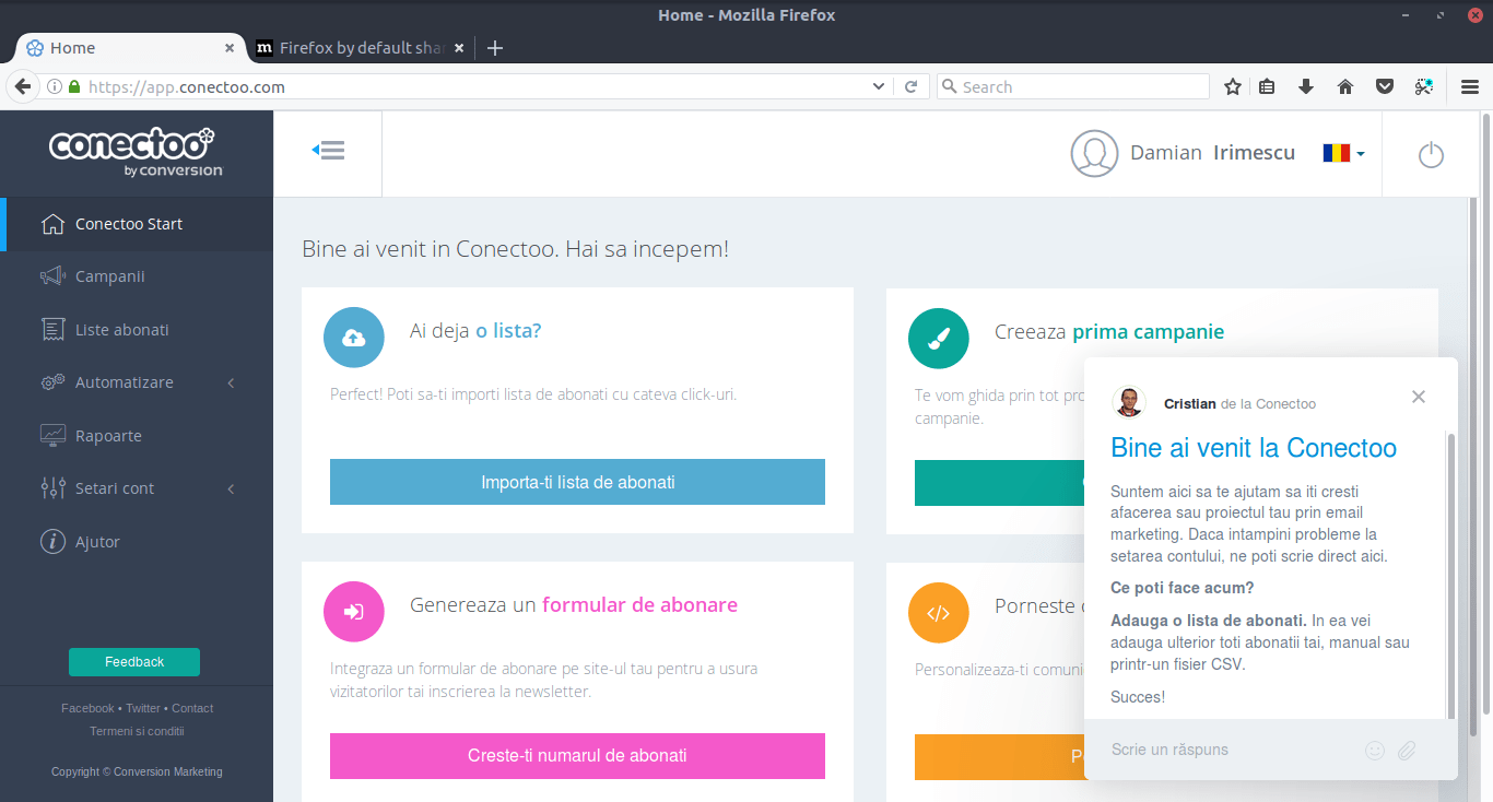 Conectoo - Newsletter Management
