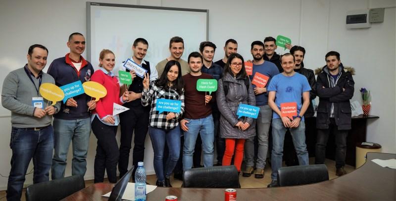 O parte din participanții la Google Hash Code