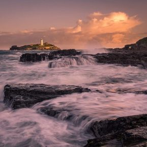 Lighthouse Godrevy Cornwall Landscape Photography