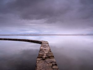 Tidal Pool Clevedon Landscape Photography