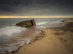 Pill Box Caister-on-Sea Norfolk Landscape Photography