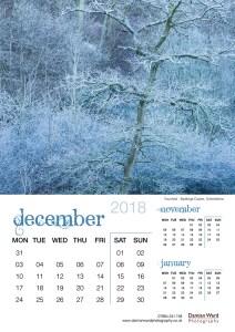 Damian Ward Photography Calendar 2018 December