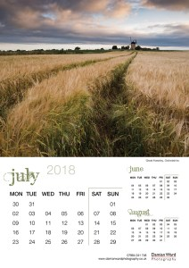Damian Ward Photography Calendar 2018 July