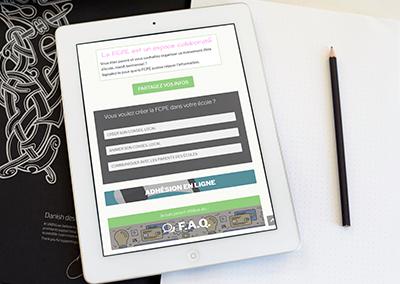 Création d'un nouveau site FCPE93