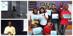 lectures and workshops youth entrepreneurship workshop st eustatius st maarten love q enhanced promotion