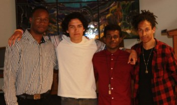 A pic with the band - The Ingredients Of