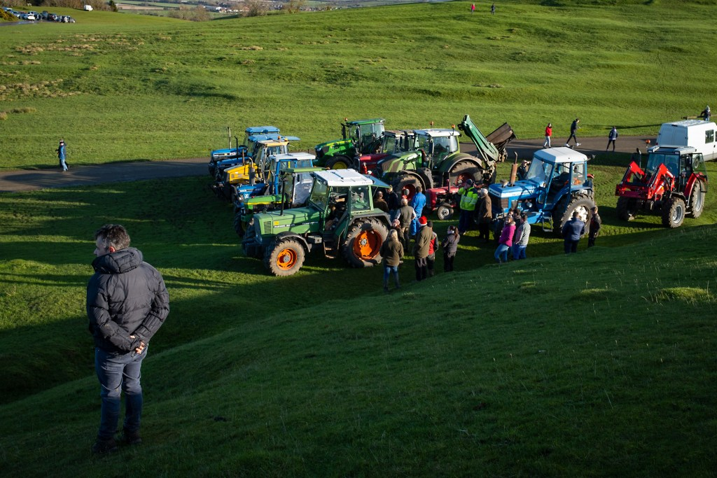 One man and his tractors