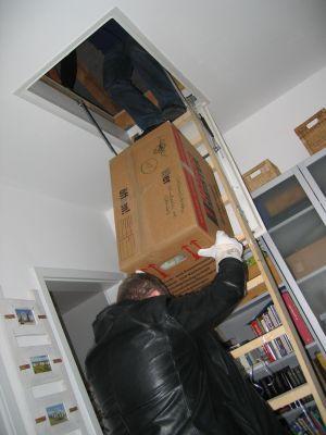 Passt die Kiste da durch?