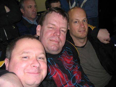 3 Amigos beim Fußball