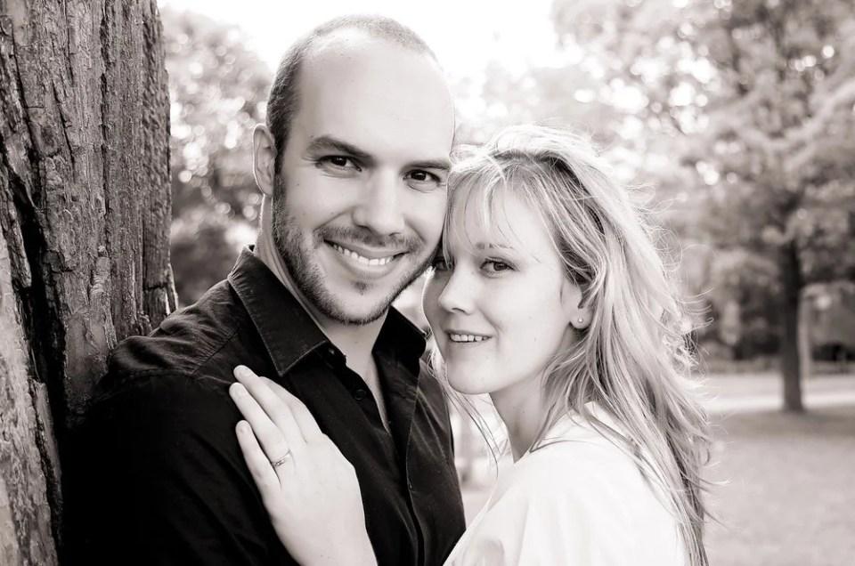 Allie & Pete: Engagement at Kew Gardens, The Beaches, Toronto
