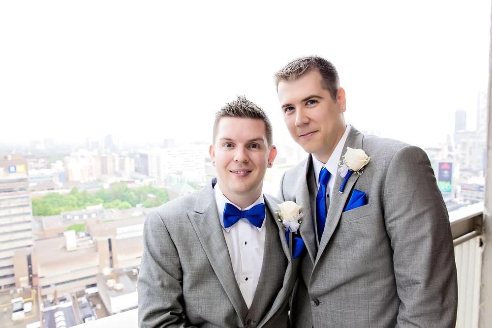 Phil and Brad: Eaton Chelsea Toronto Wedding Photographer