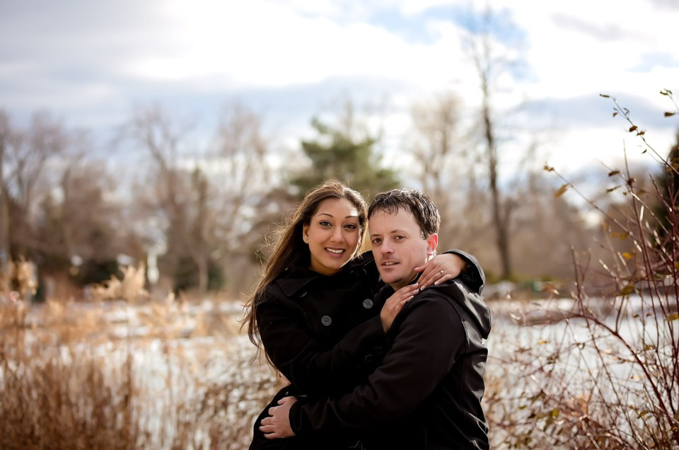 Lisa & Jared: Richmond Hill – Mill Pond Park Engagement