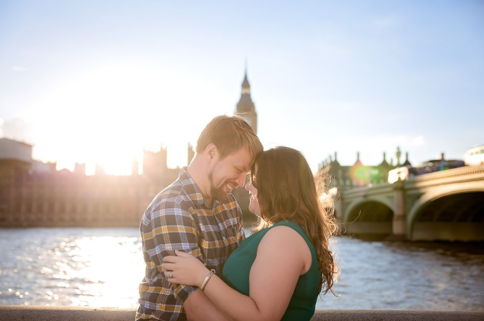 Janice & Peter | Westminster & The River Thames Engagement | London, England