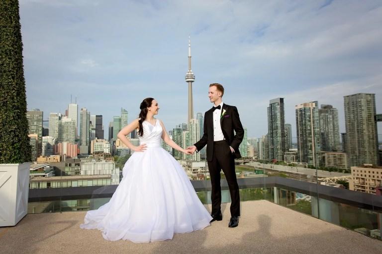 Maddies & Sean Thompson Hotel Wedding Toronto