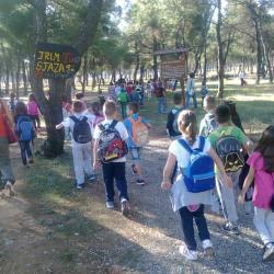 "Učenici OŠ ""Pavle Rovinski"" redovni posjetioci parka"