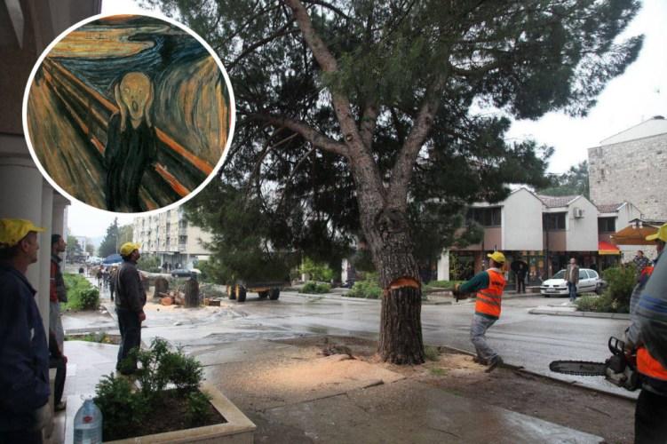 Gdje god nađeš zgodno drvo, ti mu život skrati