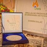 Dodijeljenje nagrade za doprinos zajednici, priznanje i za projekat uređenja Ćemovskog polja