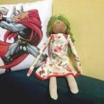 Jelenu Simić znate kao glumicu, a sada pravi i krpene lutke, koje vraćaju u lijepe dane djetinjstva