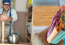 Radionica pašte: Danilo iz Ulcinja pravi domaću, šarenu tjesteninu od povrća