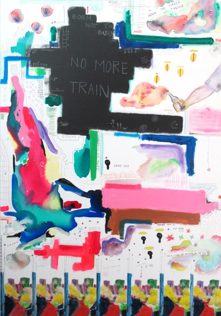 """No more trains"" 2017"