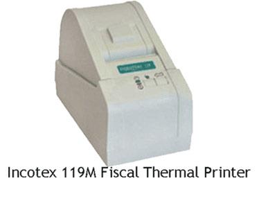 Incotex 119 Fiscal thermal printer