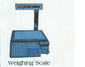 pos weighing scale from damitech