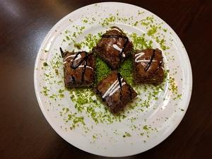 Baklava mit Schokolade