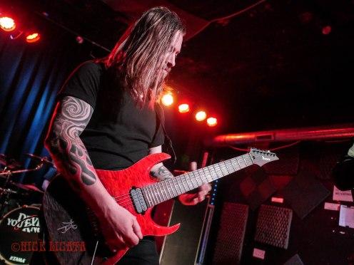 Devil You Know guitarist Francesco Artusato live @ Fubar STL on Wednesday, April 27 - Photo: Nick Licata