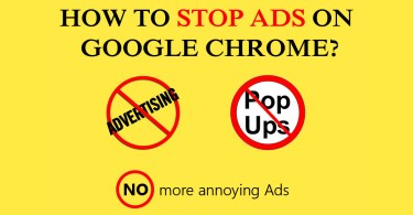 How to stop ads