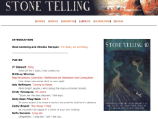 The cover of Stone Telling's Body issue