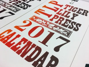 TLP cover by Susan Naylor (letterpress)