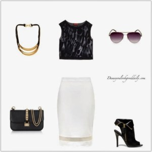 Edgy-outfit-ideas-white-pencil-skirt