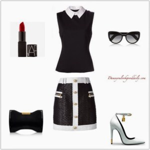 tom-ford-heels-balmain-nars-lipstick-girls-night-out-outfit