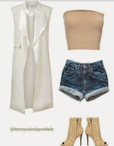 Jean Shorts Outfit Ideas