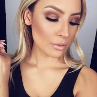 bronze-makeup-look