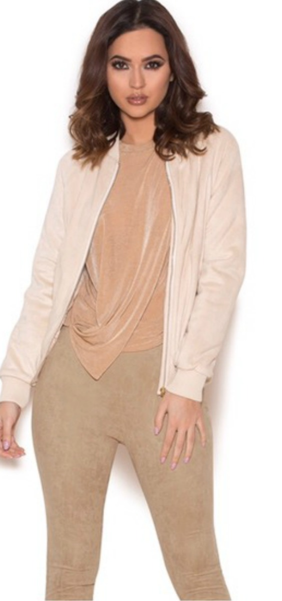 nude-suede-womens-bomber-jacket