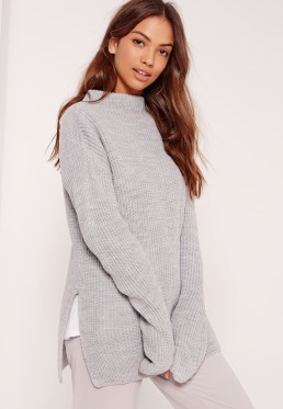 gray-oversized-sweater