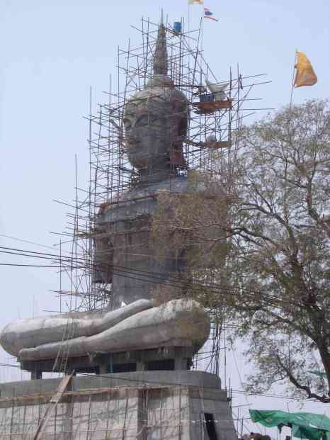 Yet another Buddha under construction