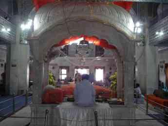 The Sikh priest at Paonta Sahib