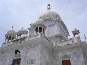 The Paonta Sahib gurdwara