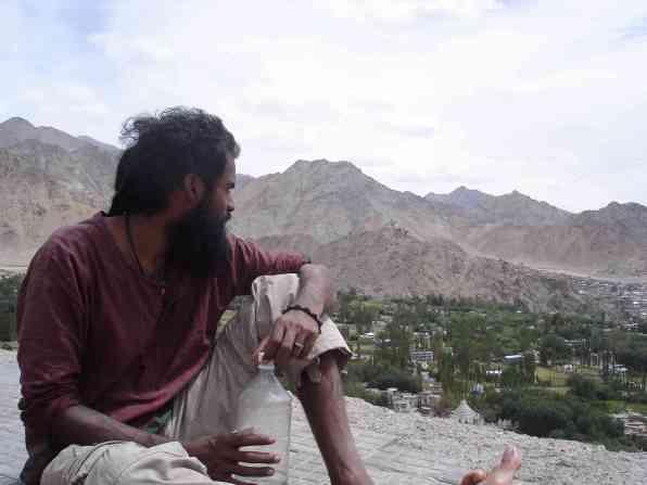 Gerry overlooking Leh