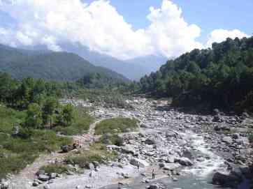On the way to Dharamsala