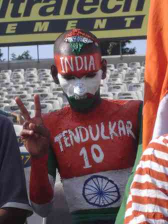 Team India's biggest fan, who is given free tickets to all matches by the God Himself
